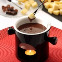 Cheese DŽIUGAS and Chocolate Fondue