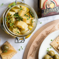 Pickled DŽIUGAS Cheese