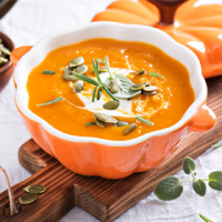 Mashed Pumpkin Soup